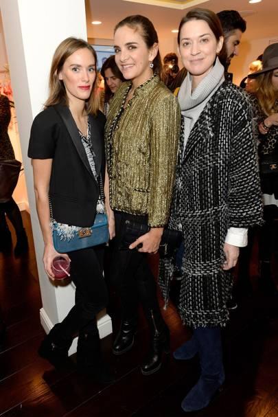 Elise de Bellefonds, Laure Heriard Dubreuil and Emily Zac