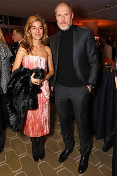 Fidan Bagirova and Jean-David Malat