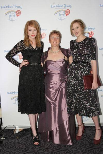Zoe Boyle, Bernadette Cleary and Laura Carmichael