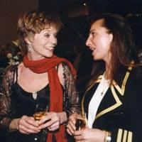 Susannah York and Mrs Benjamin Lorenz