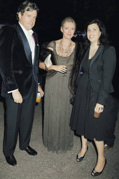 Peter Butler, the Hon Annabel Heseltine and the Hon Kirstie Allsopp