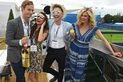 Jack Fox, Samantha Barks, Ross Witherden and Tamsin Egerton