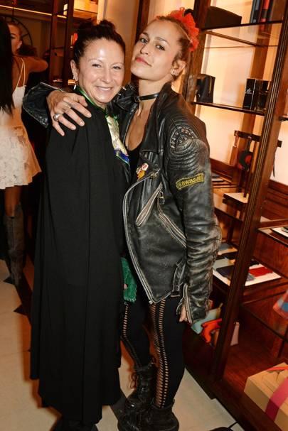 Fran Cutler and Alice Dellal
