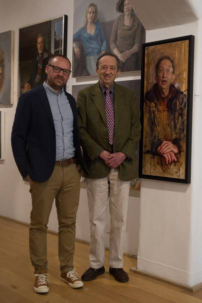 David Maiden and Lord Joel Joffe