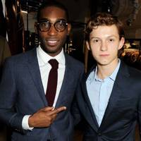 Tinie Tempah and Tom Holland