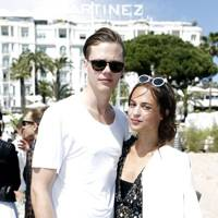 Bill Skarsgård and Alicia Vikander