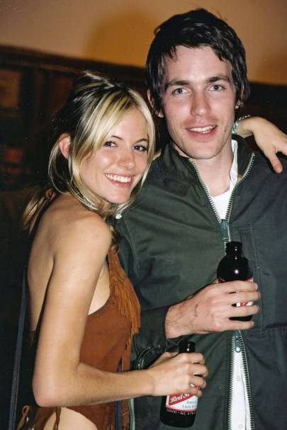 Sienna Miller and David Neville