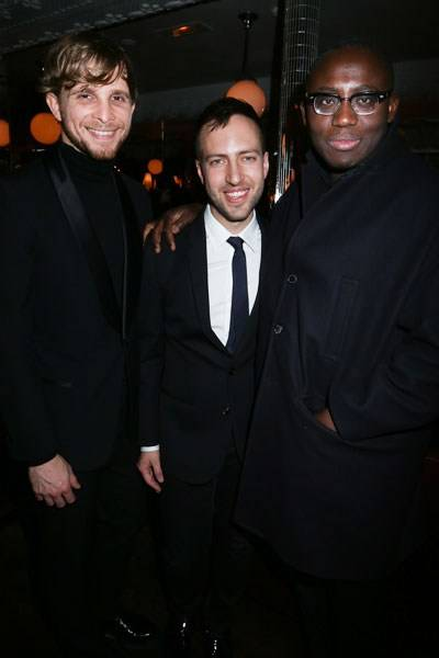 Christopher de Vos, Peter Pilotto and Edward Enninful