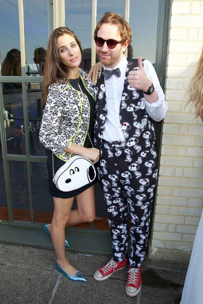 Chloe Macintosh and Philip Colbert