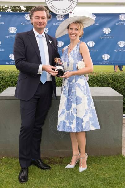 Laurent Feniou and Sarah Weston