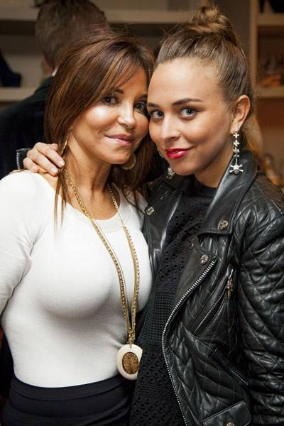 Sharon Wolter Ferguson and Chloe Green