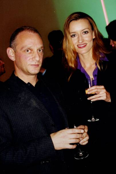Neil Mendoza and Natasha McElhone