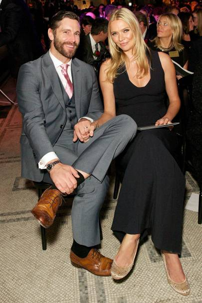 David Blakeley and Jodie Kidd