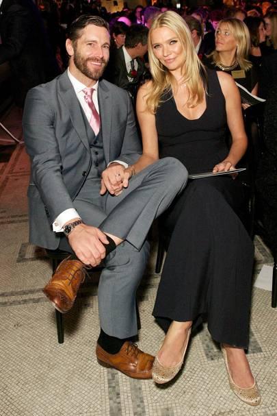 David Blakeley and Jodie Kidd