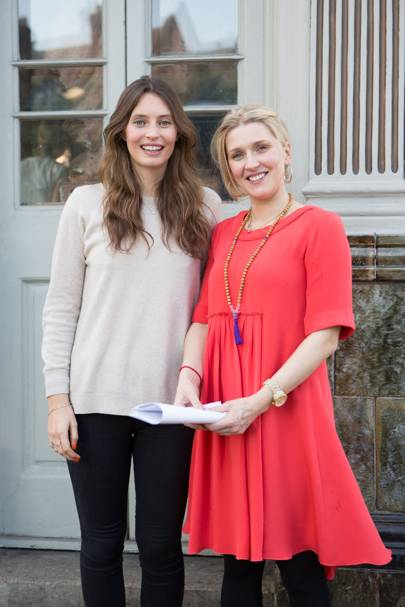 Ella Woodward and Rose Lloyd Owen