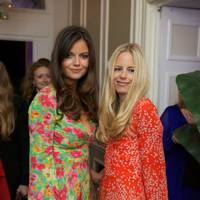 Lady Natasha Rufus Isaacs and Astrid Harbord