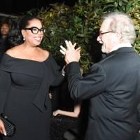 Oprah Winfrey and Steven Spielberg