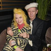 Pam Hogg and Paul Simonon