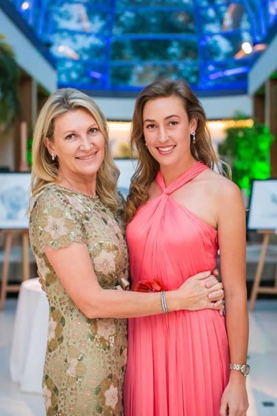 Sarah Spencer and Lady Tatiana Mountbatten