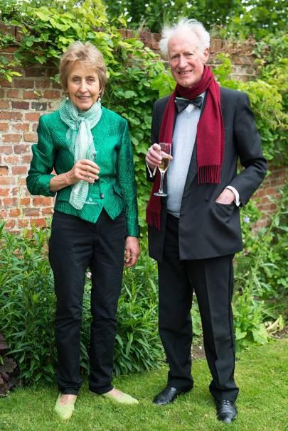 Christina Gascoigne and Bamber Gascoigne