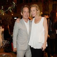 Tom Hollander and Zoe Kuipers