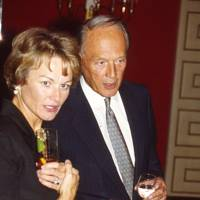 Mrs Anthony Wilson and Sir Michael Richardson