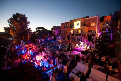 Hotel Byblos summer party, St Tropez