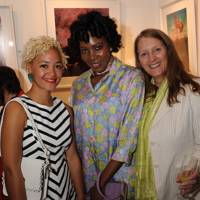 Crystal Fischetti, Lucy Namayanja and Clare Newton