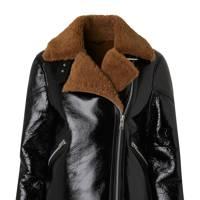 All Saints shearling jacket