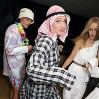 Freddie Hamilton, Olivia Goodwin and Eliza Kearns