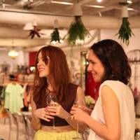 Angela Scanlon and Serafina Sama