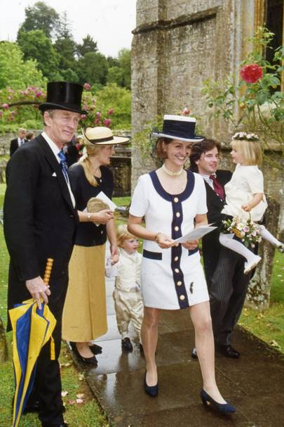 Oliver Fox-Pitt, Mrs Rupert Charles-Jones, Myles Charles-Jones, The Hon Mrs Lane Fox, Rupert Charles-Jones and Caitlin Charles-Jones