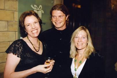 Dr Lisbet Rausing, Jack Kidd and Mrs Jack Kidd