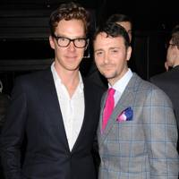 Benedict Cumberbatch and Jason Atherton
