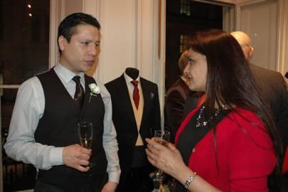 Sebastian Espinosa and Muna Ashra