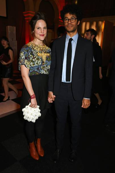 Lydia Fox and Richard Ayoade
