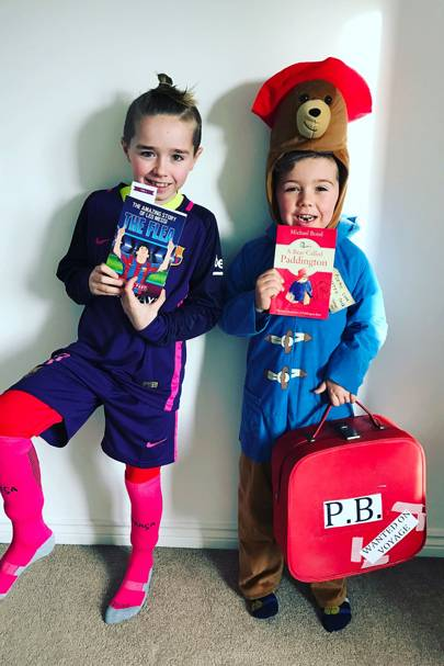 Seb Prime-Stack and Roman Prime-Stack as Leo Messi and Paddington Bear