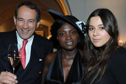 Bruno Paillard, Yaourou Konaté and Hannah Young