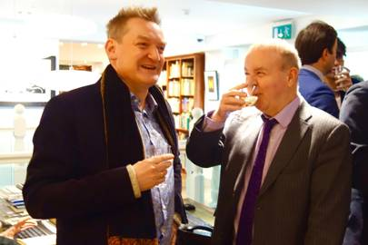 Giles Milton and Ian Hislop