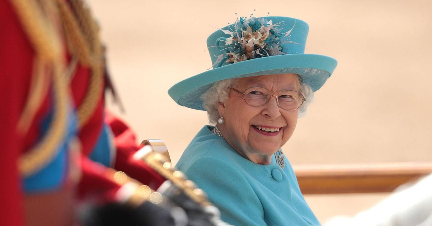 The Queen's 95th birthday celebration no greeting with the Trooping the Color gun