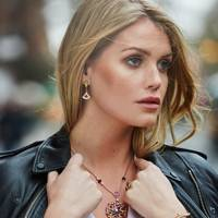 Lady Kitty Spencer was announced as the face of Bulgari