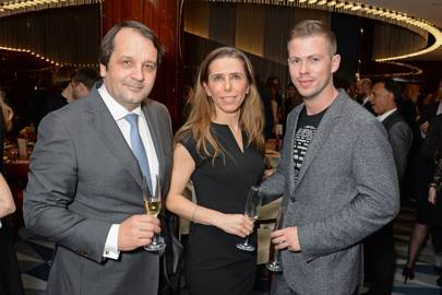 Sylvain Ercoli, Dali Feller and Michael Hennegan