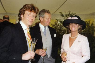 Mark Curtis-Bennett, Sir Bruce McPhail and Lady McPhail
