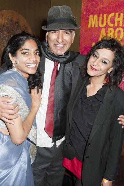 Amara Karan, Iqbal Khan and Meera Syal