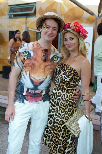 Oliver Gerrish and Stephanie Bilet