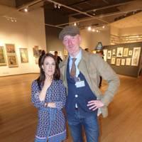 Susie Ashfield and Iain Exley