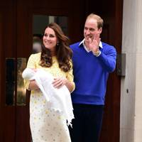 The Duchess of Cambridge, the Duke of Cambridge and Princess Charlotte