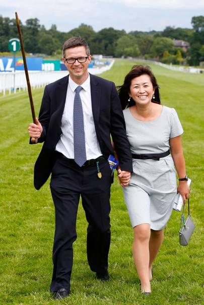 Roger Varian and Hanako Varian