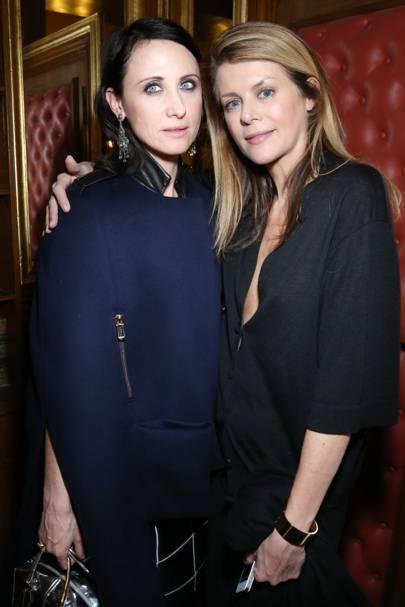 Alessandra Facchinetti and Virginie Mouzat