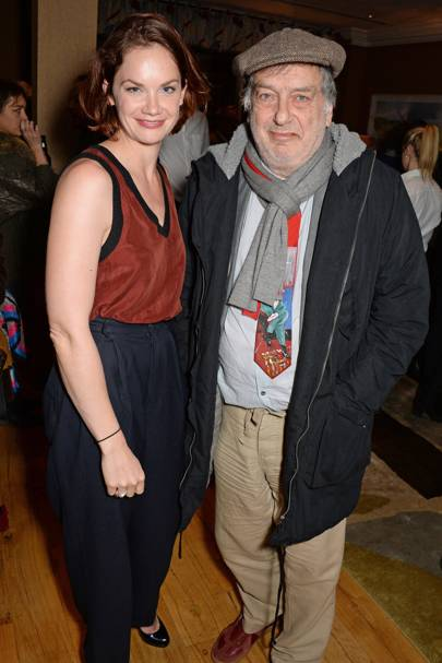 Ruth Wilson and Stephen Frears